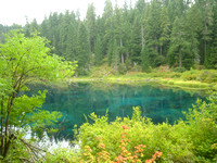 Clear Lake , Willamette NF - September 16, 2005