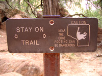 stay-on-trail