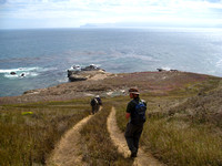 Santa Rosa Island, Channel Islands NP , July 2011