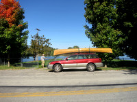First Paddle - September 27, 2014